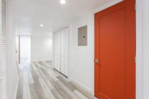 wide entry hallway