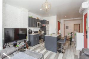 open floorplan living space
